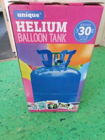 Unique helium balloon tank