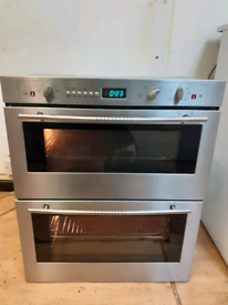 Neff double electric oven built under stainless steel 60cm