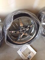 """Milanni ZS-1 rims 20""""x8"""" on new tires"""