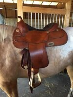 "Billy Cook 16"" Western Saddle"