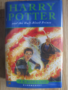 HARRY POTTER AND THE HALF-BLOOD PRINCE 2005 (UK)