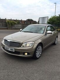 2007 Mercedes Benz C220 67000 miles drives like new luxury car FULL SERVICE HISTORY + TAX+MOT