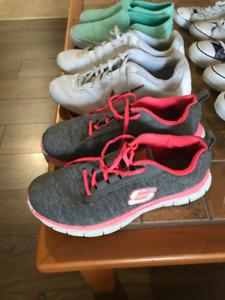 Souliers Converse, Nike, Vans et autres