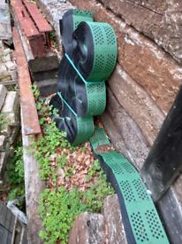 Root protection new plastic gravel matt