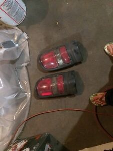 Free 01 dodge tail lights and rear seat