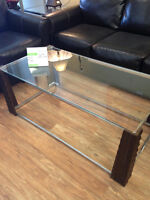 ASHLEY COFFEE AND END TABLE SET  COFFEE AND 2 END TABLES FOR $16