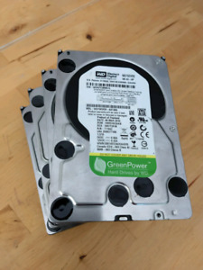 Western Digital WD15EVDS 1.5 TB HDD - set of 4 hard drives