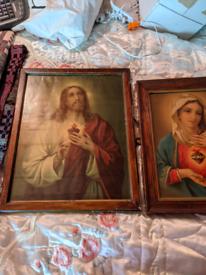 Christian Prints in frames