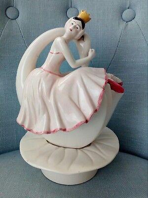Taste Ballerina (raro Sigma The Taste Setter porcelain porcellana carillon Ballerina Swan danza)