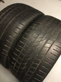 Two Continental Tyres