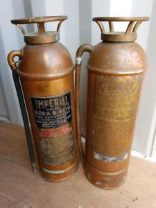 Vintage Fire Extinguishers