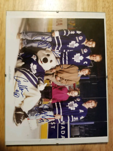 Toronto Maple Leafs 8x10-Autographed