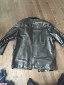Men's large leather jacket Strathcona County Edmonton Area image 3