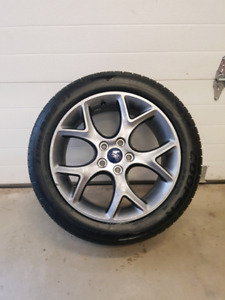"17"" Ford Focus 5x108 Rim and tire"