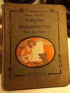 LIVRE DE 1925 ``THÉATRE ET MARIONNETTES POUR LES PETITS