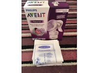 Avent natural manual breast pump new in box
