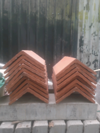 Marley Smooth Plain Angled Ridge Tiles
