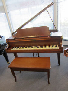 5' LINDSAY BABY GRAND WITH MATCHING BENCH!