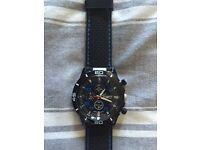 Men's Geneva platinum watch