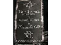 Men's two stoned knitwear