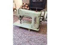 Vintage sewing machine Jones singer antique