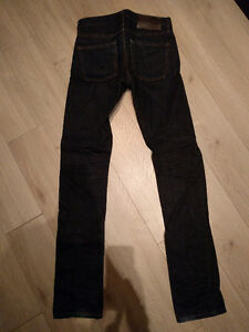"Naked and Famous Skinny Guy ""Deep Indigo Selvedge"" Jeans"