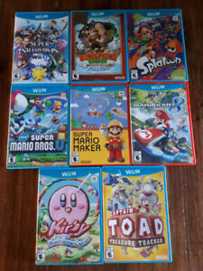 Assorted Wii U Games in Mint Condition!!!