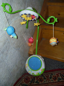 Baby crib musical/lite/mirror  mobile