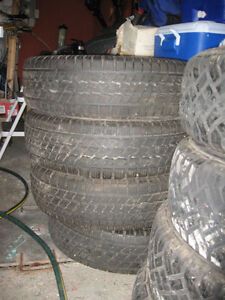 Tires - Goodyear Nordic Icetrac (4) P205/70R15