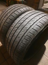 2x 225/35/19 tyres