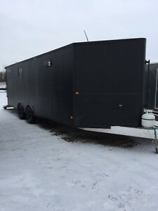 High Country All Aluminum Loaded Enclosed 4 place Sled Trailer