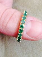 Nice emerald ring size 7