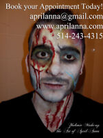 Halloween Makeup - 21 Years Experience