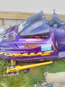 99 formula z 500 looking to trade for plow truck plus cash .