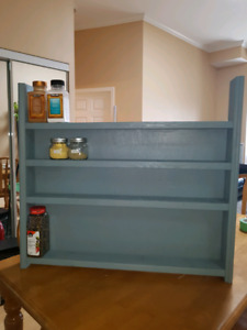 Hand made wall montable spice rack for sale