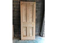 Reclaimed pine door