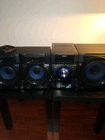 Sony 540W CD Player With Speakers