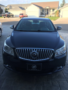 2010 Buick Lacrosse CWL AWD - low km - proof of inspection