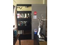 2 sliding doors wardrobe
