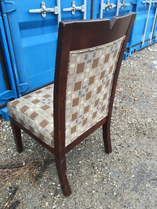 6 Solid Wood Dining Chairs - $180 Kitchener / Waterloo Kitchener Area image 2