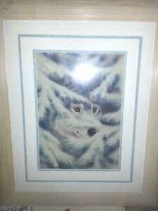 Painting of Wolf - (northvan) North Shore Greater Vancouver Area image 1