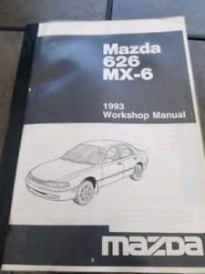 1993 Mazda MX-6 626 workshop manual