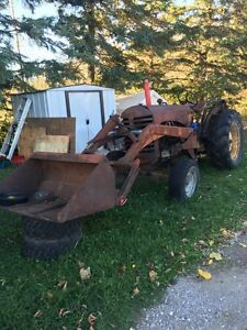 Massey Harris 33 tractor with loader for sale or trade