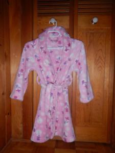 Robe de chambre fillette