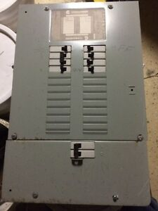 Electrical/hydro panel