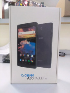 """Alcatel A30 8"""" Tablet, 4G LTE"""