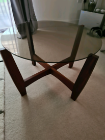M& S round coffee table