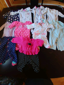 New born / 0-3 month girl clothes