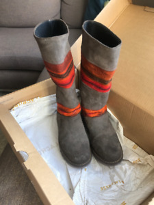 NEW - One of a kind Designer Boots Handmade in Peru