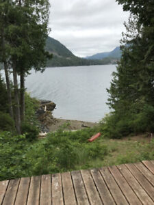 *** New Price *** Waterfront cabin on 5 acres